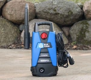 The AR Blue Clean BC111HS in use