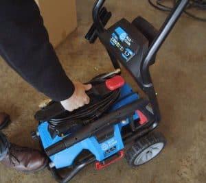 The AR Blue Clean BC2N1HSS in use