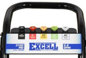 The nozzles of the Excell EPW2123100