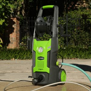 The Greenworks GPW1702 in use