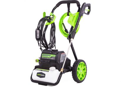 Greenworks GPW2000 2000PSI Electric Pressure Washer