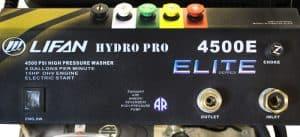 The nozzles of the Lifan LFQ4515E-Elite