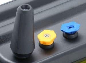 The nozzles of the Ryobi RY14122