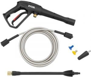 Some of the accessories of the Ryobi RY141812G