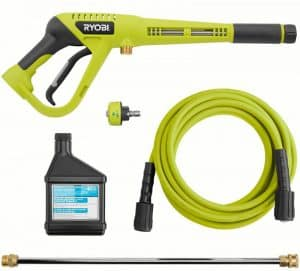 Some of the accessories of the Ryobi RY80942
