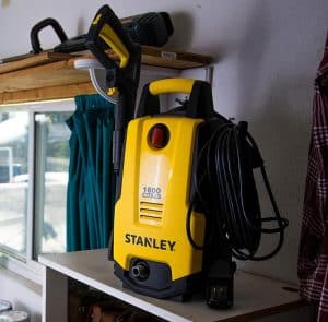 The Stanley SHP1600 in use