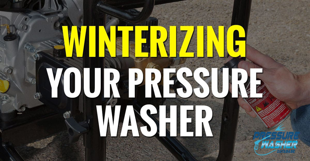 pressure washer winterizing featured image